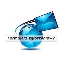 Formularz zgłoszeniowy (podstrona)