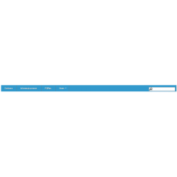 Blocktopmenu Prestashop 1.5 błękitne