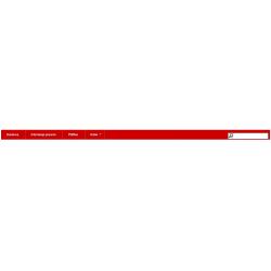 Menu czerwone Prestashop 1.5 .4.1