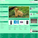 Menu prestashop 1.5 turkusowe