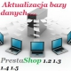 Aktualizacja bazy danych Prestashop