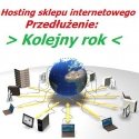 Hosting sklepu internetowego przez rok