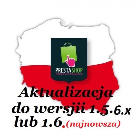Aktualizacja PrestaShop