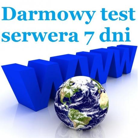Test serwera www 7 dni
