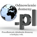 Odnowienie domeny pl